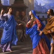 L'Enfant Jésus retrouvé dans le Temple