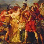 Le Combat des Romains et des Sabins interrompu par les femmes Sabines