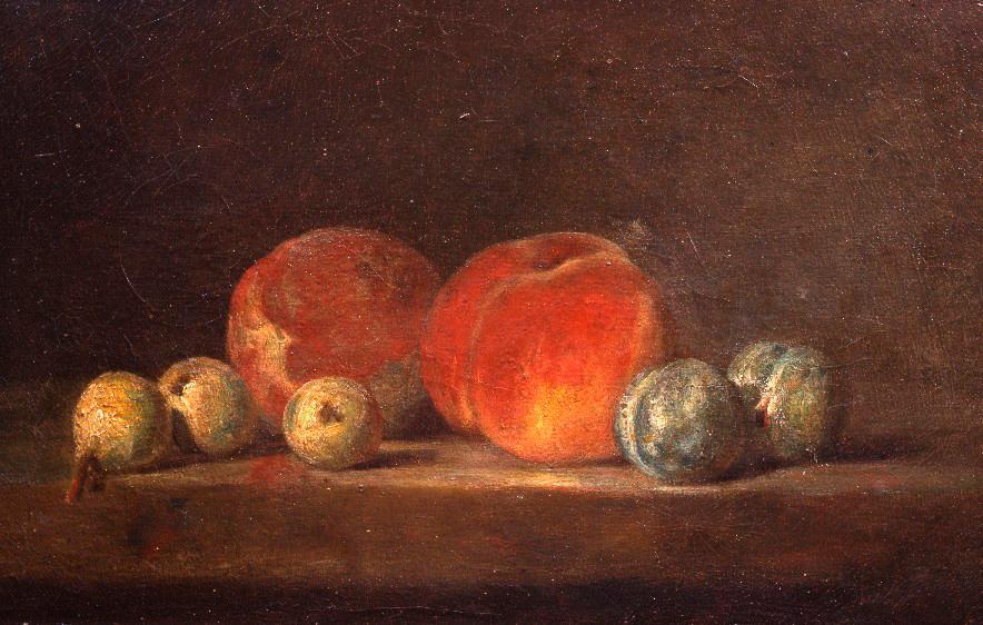 Chardin, pêches et prunes : Les musées d'Angers