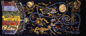 """""""Conquête de l'espace"""", Jean Lurçat, 1960"""