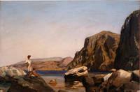 """""""Jeunes baigneurs sur un rocher à Capri"""", Guillaume Bodinier, 1826"""