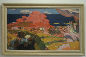 "Maurice Denis, ""Saint-Georges aux rochers rouges"", 1910"