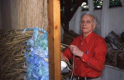 Grau-Garriga in his workshop