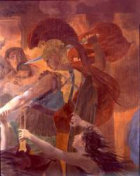 """Pierre-Narcisse Guerin (1774-1833), """"La Mort de Priam ou La Dernière nuit de Troie"""" (détail), 1830-1832"""