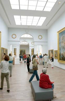 la grande Galerie, 2ème étage