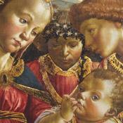 La Vierge, saint Jean-Baptiste et un ange adorant l'Enfant Jésus