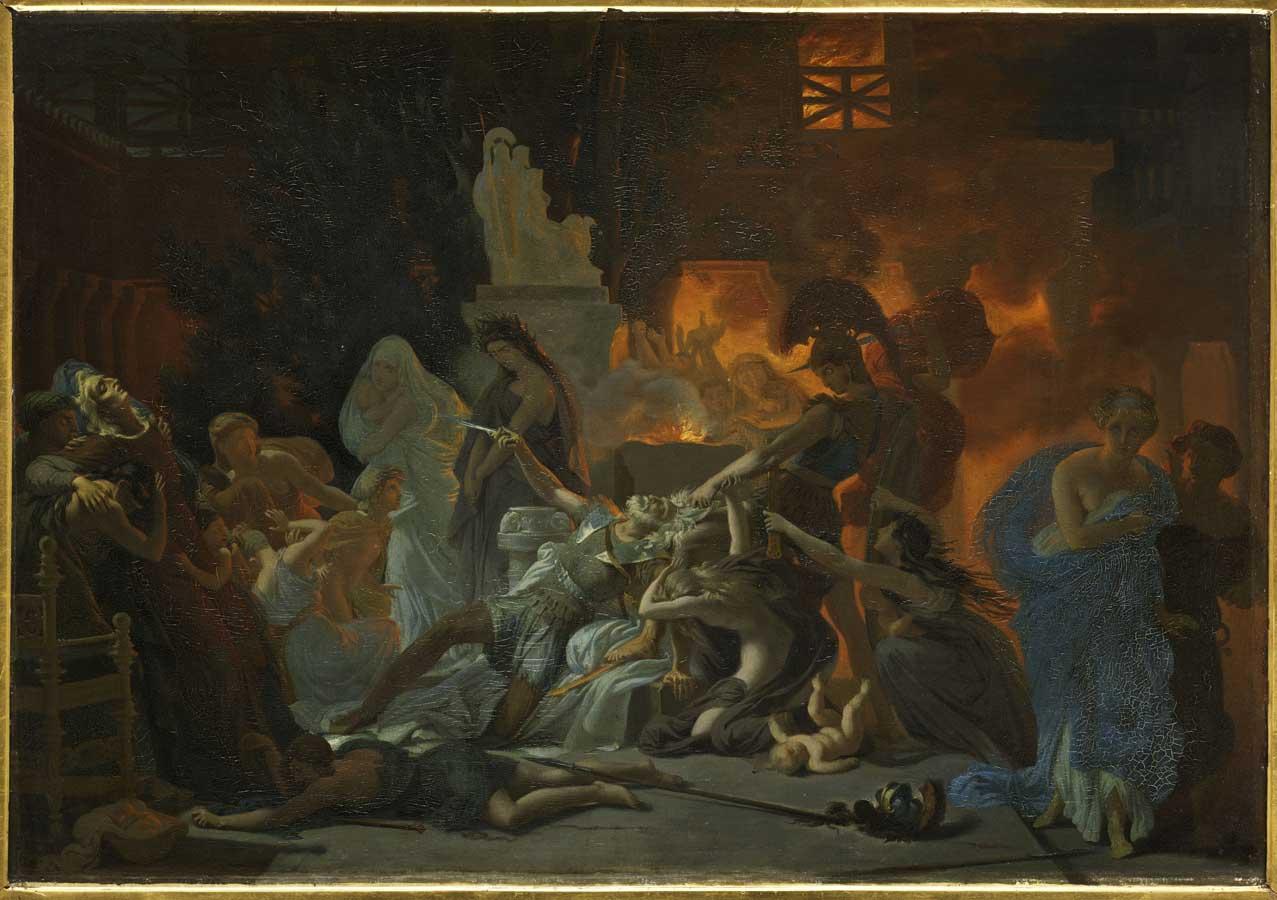 La Mort de Priam