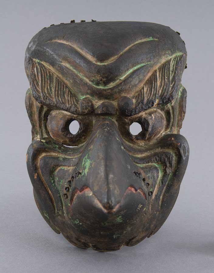 Masque de gigaku : Karura