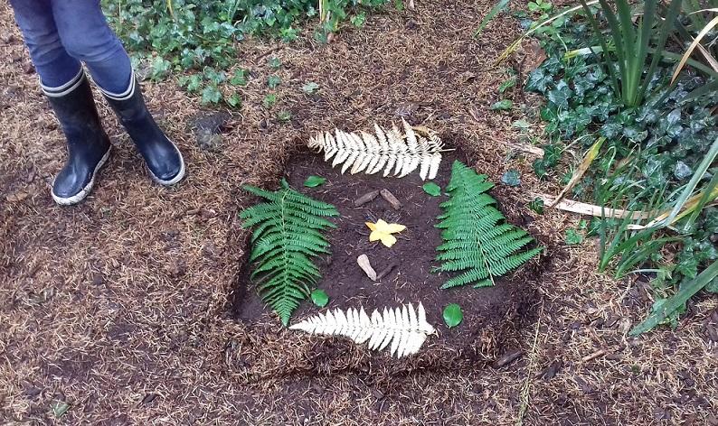 Land Art à l'Arboretum